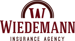 Wiedemann Insurance Agency Red Logo